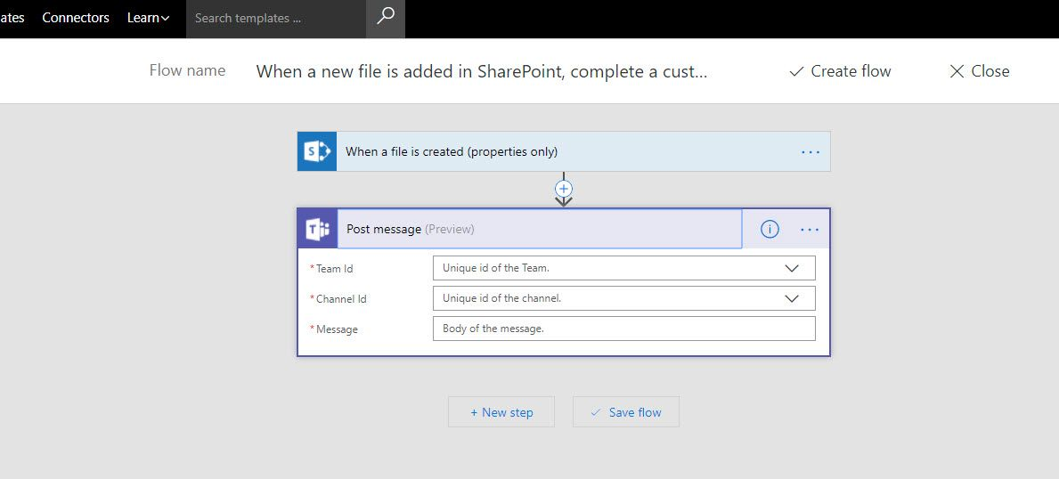 Linking SharePoint news to a Teams channel - Microsoft Tech