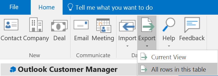 Exporting contacts - Microsoft Tech Community - 132035