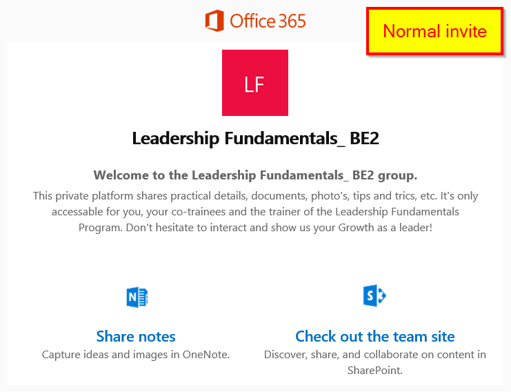 Faulty office 365 groups invitation mail microsoft tech community mail faultyg mail normalg stopboris Choice Image