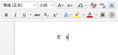 Office for Mac Chinese version -- default font has extra blank space