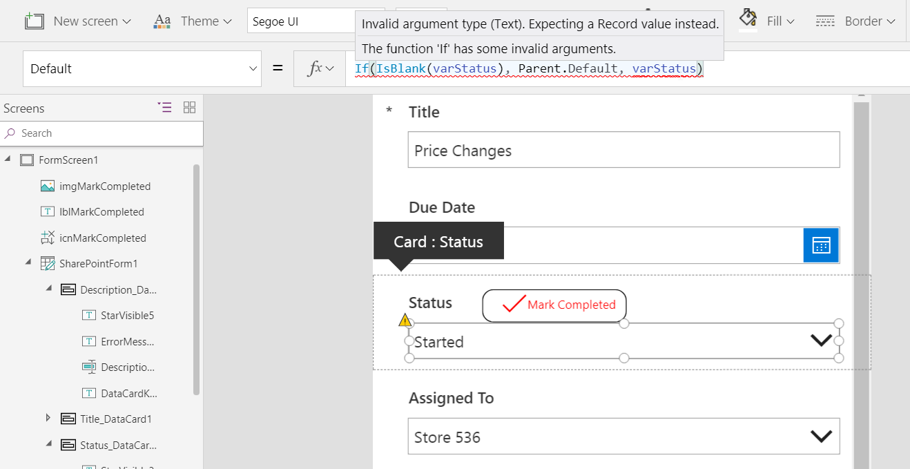 Powerapps patch date | Updating PowerApps Screens and Forms