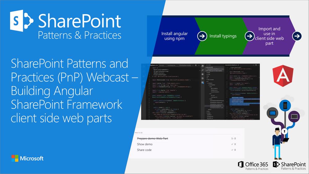 SharePoint PnP Webcast – Building Angular SharePoint