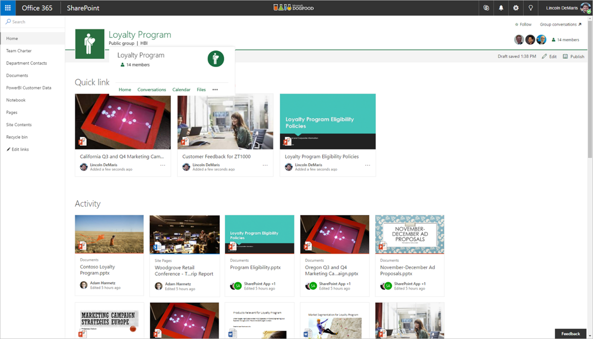rolling out  sharepoint online team sites   office 365