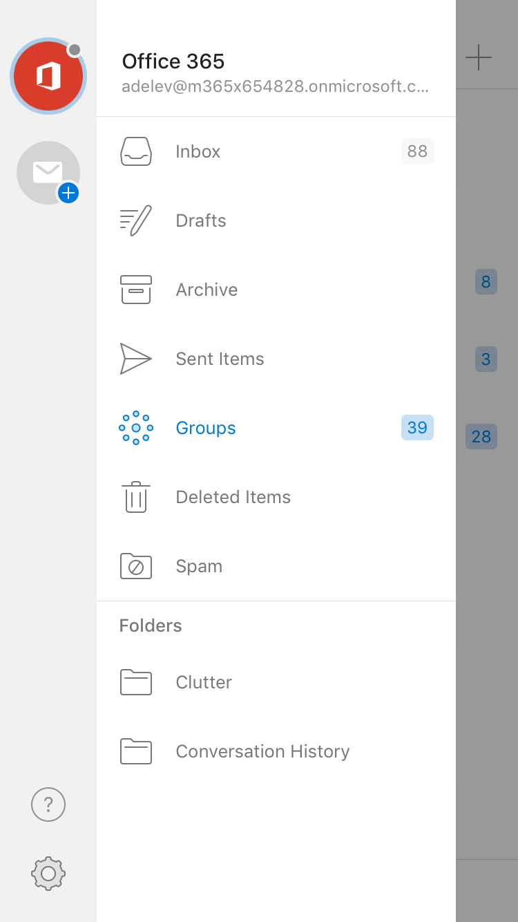 Updated: Use Groups in the Outlook mobile app