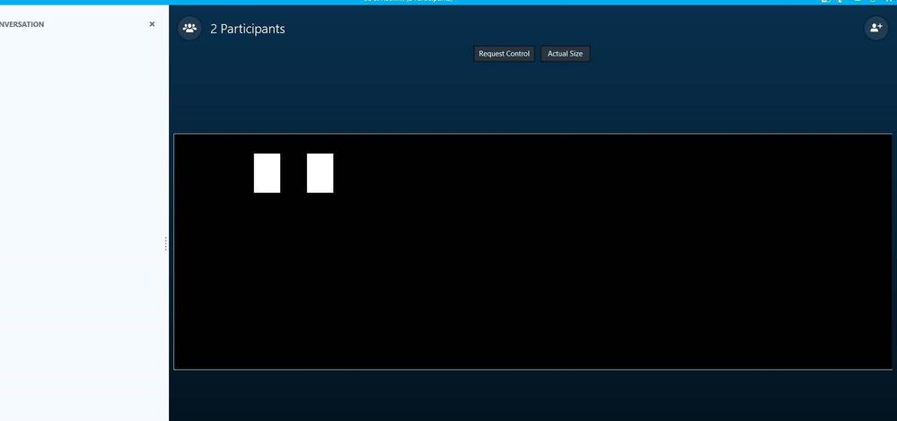 skype share screen mac not working