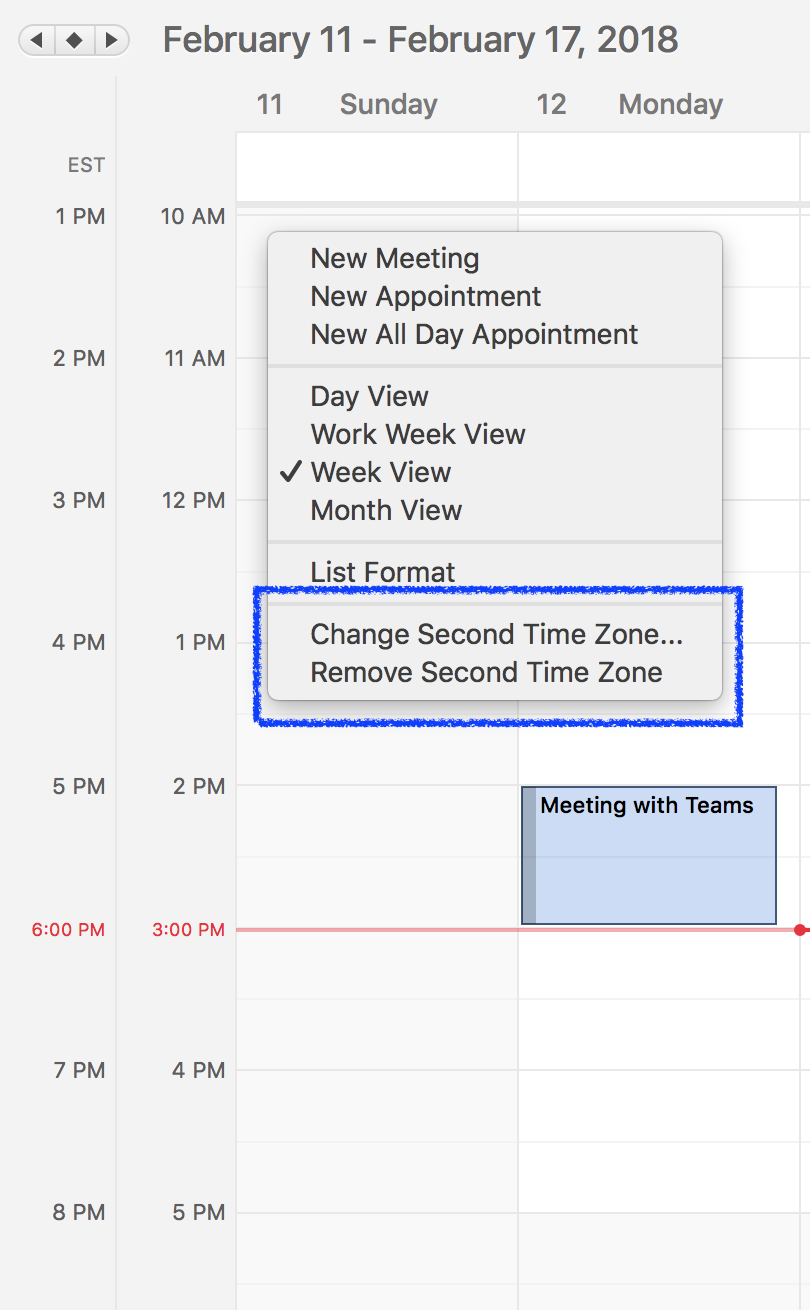 Outlook for Mac adds new time zone features in Insider Fast