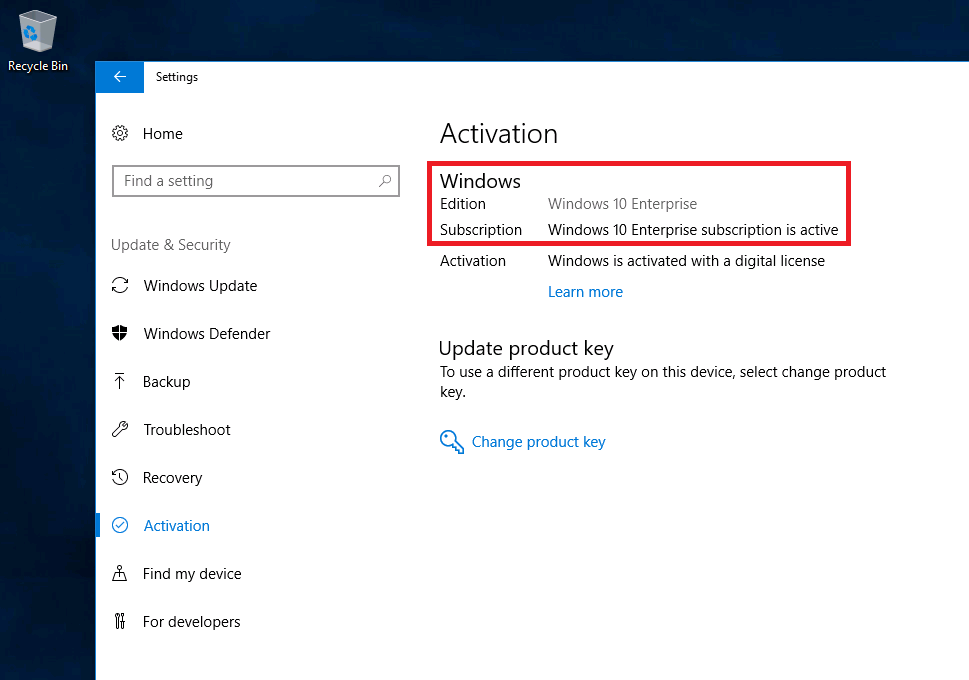 Modernizing Windows deployment with Windows 10 Subscription