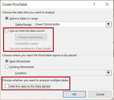 Insert new Pivot Tables in Excel Online - Microsoft Tech