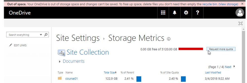 OneDrive Files On Demand - 5TB on a 126GB system - Microsoft