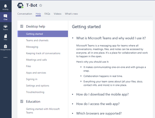 i tried teams wiki but it does not displaywork in the same way same for onenote