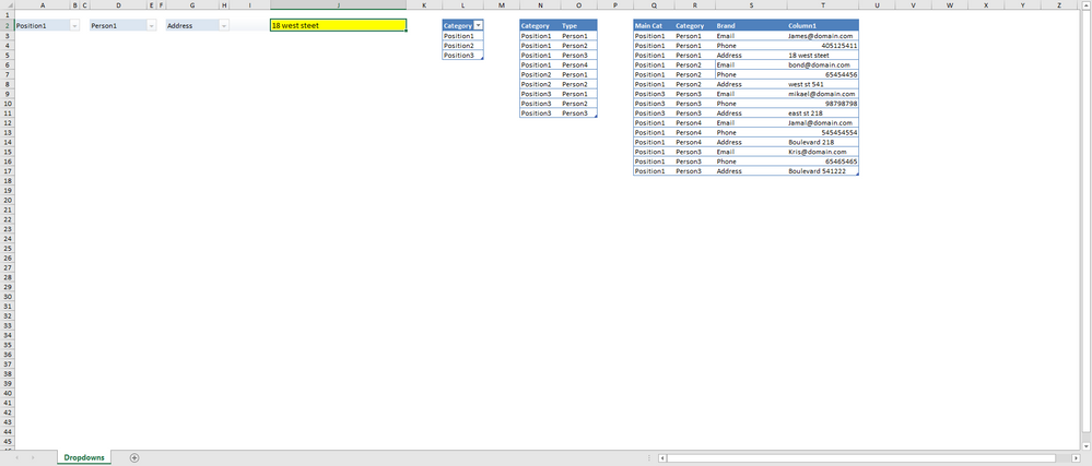Dependent Drop Down Lists - Microsoft Tech Community - 176483