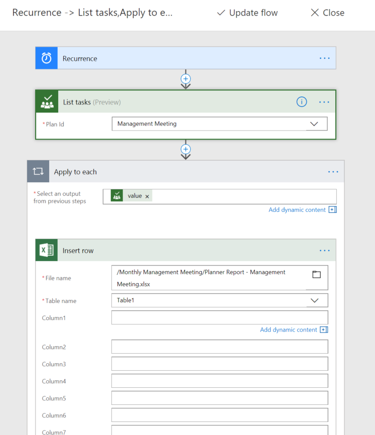 How to export planner status reports in excel? - Microsoft Tech