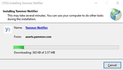 yammer notifier