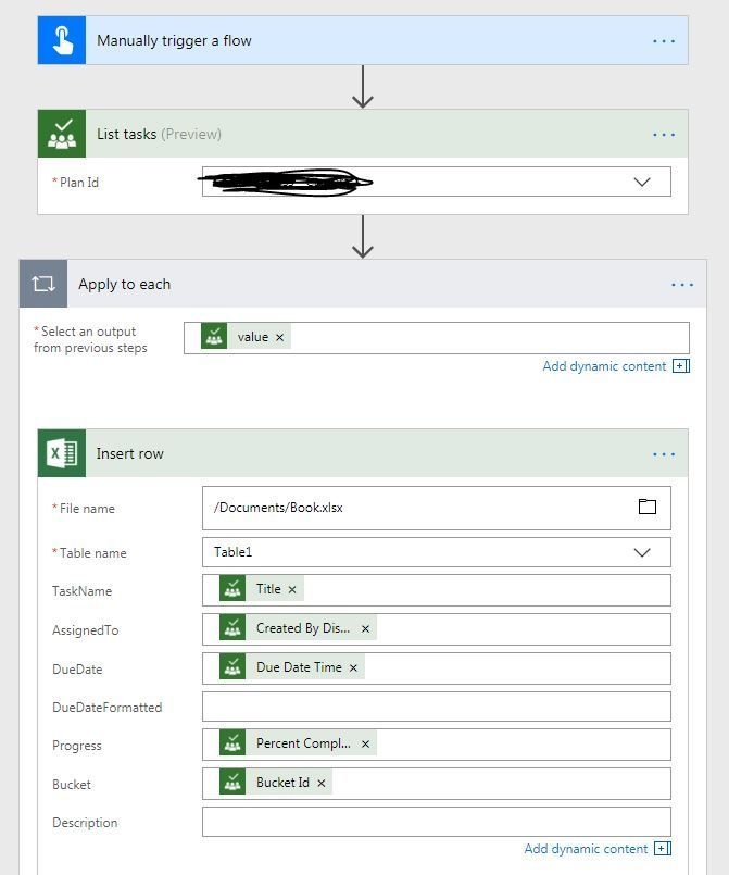 How to export planner status reports in excel? - Microsoft