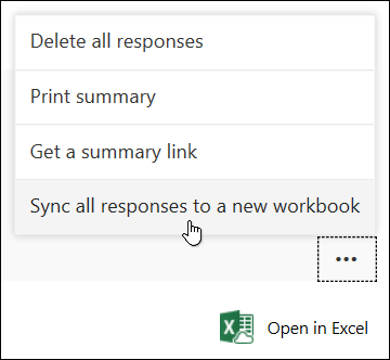 Forms responses missing when Excel is opened - Microsoft Tech
