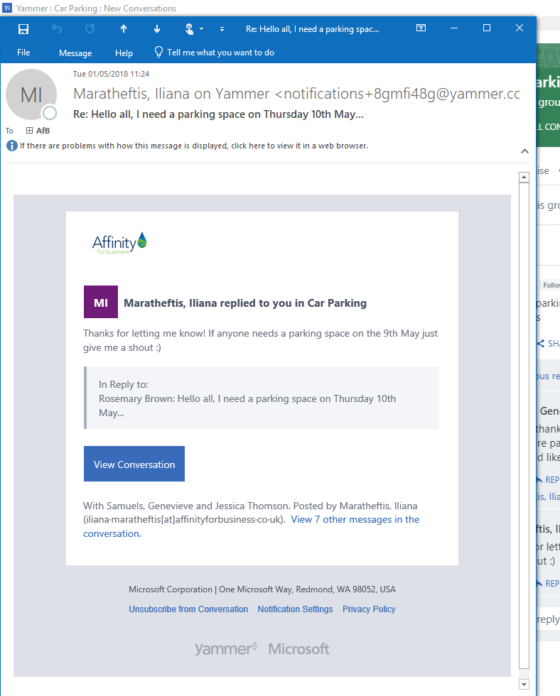 Yammer email notification.png