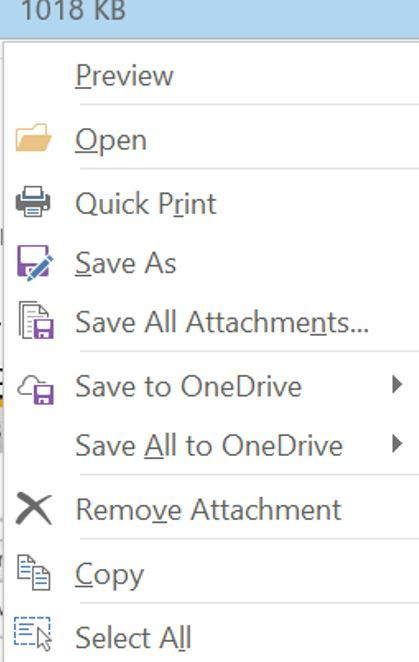 save outlook attachment to MS Teams? - Microsoft Tech