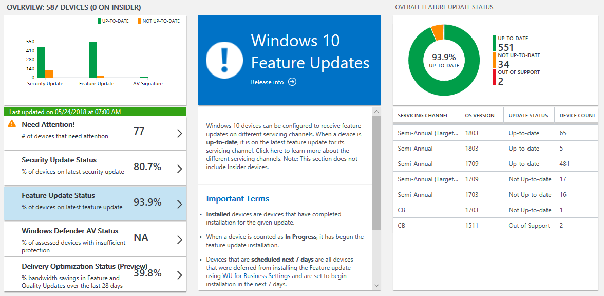 What's new in Windows 10, version 1803