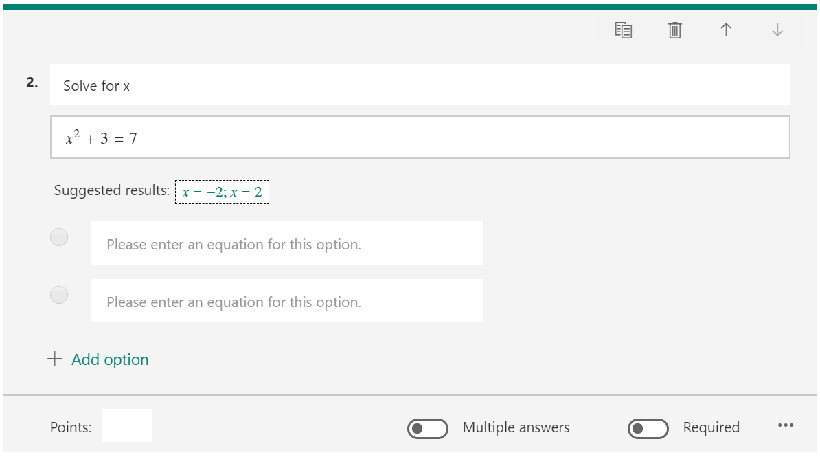 Create a Math Quiz in Microsoft Forms - Microsoft Tech