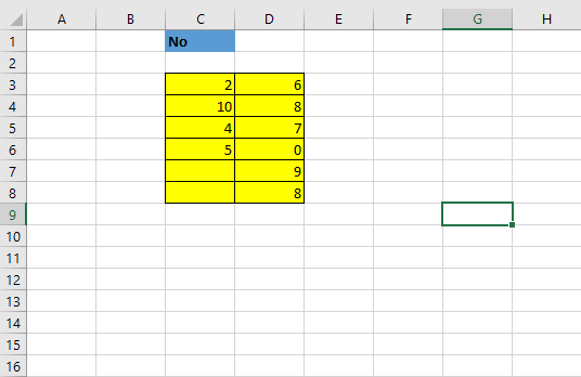 excel lock cell