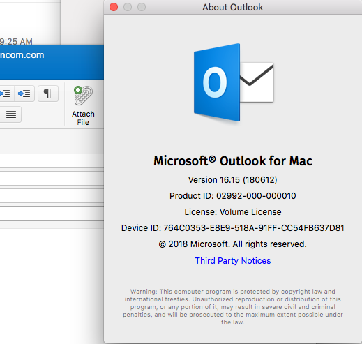 microsoft outlook for mac 2016