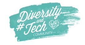 Diversity and Tech Community Logo turquoise.JPG