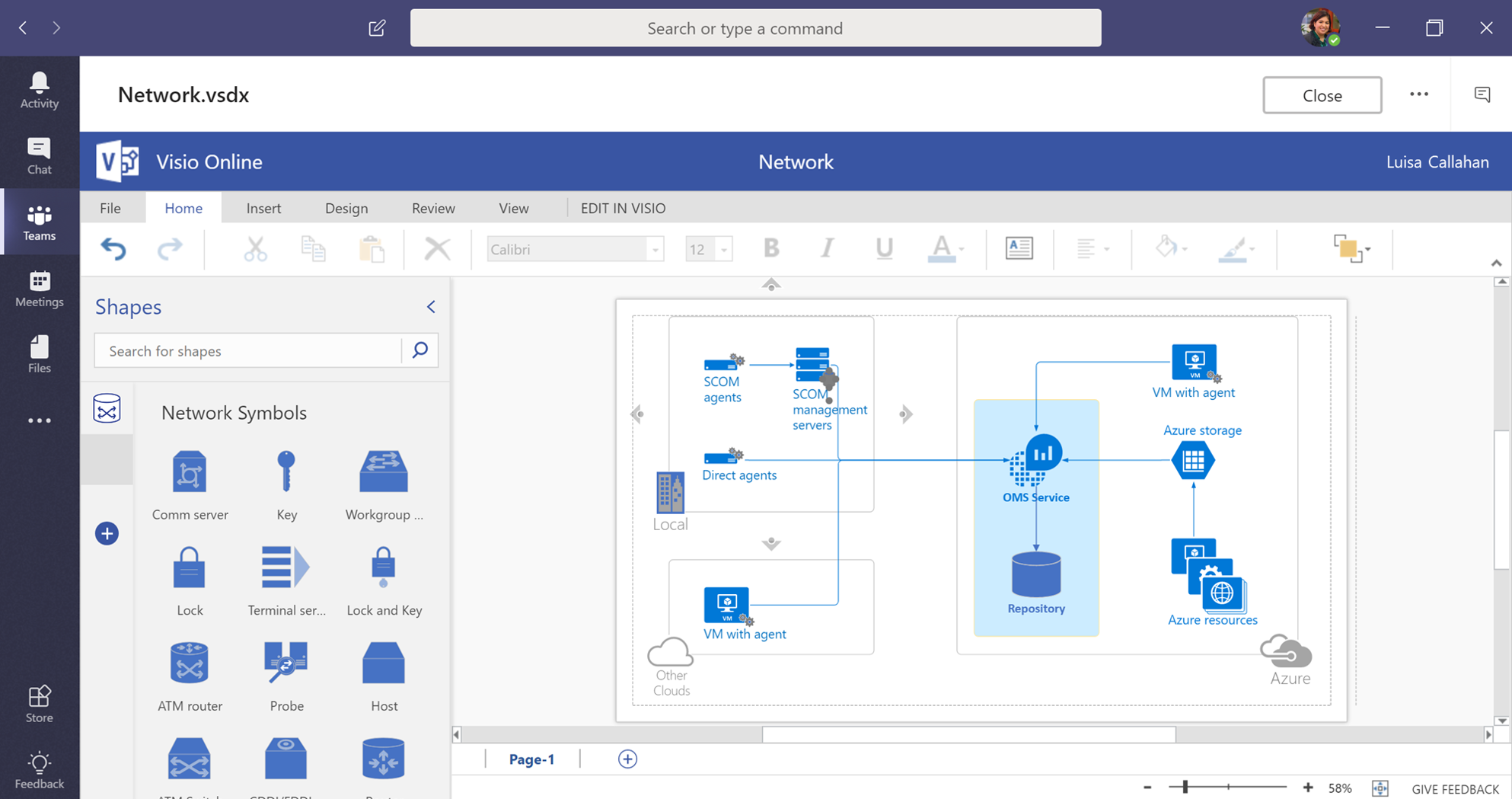 Collaborate On Visio Files Inside Microsoft Teams Tech Electrical Block Diagram Community 206279