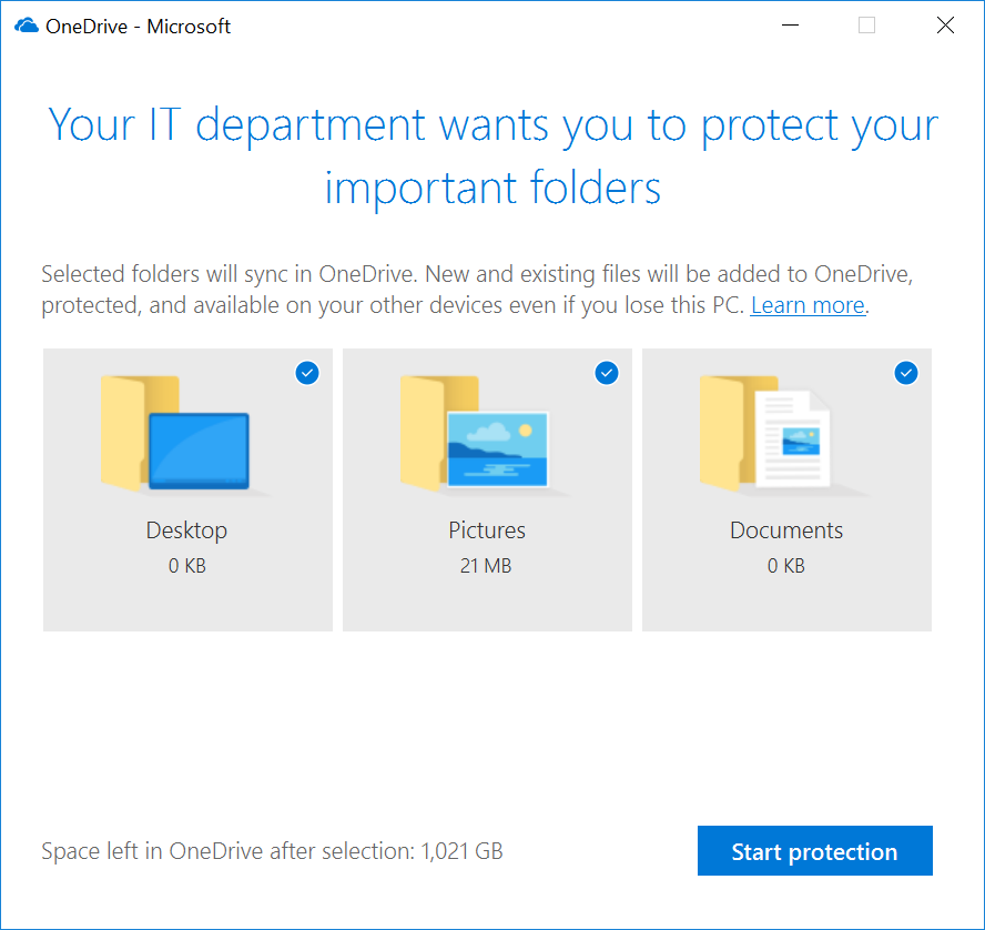 Migrate Your Files to OneDrive Easily with Known Folder Move