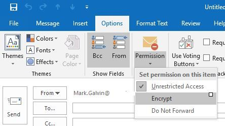 Encrypt only rolling out starting today in Office 365