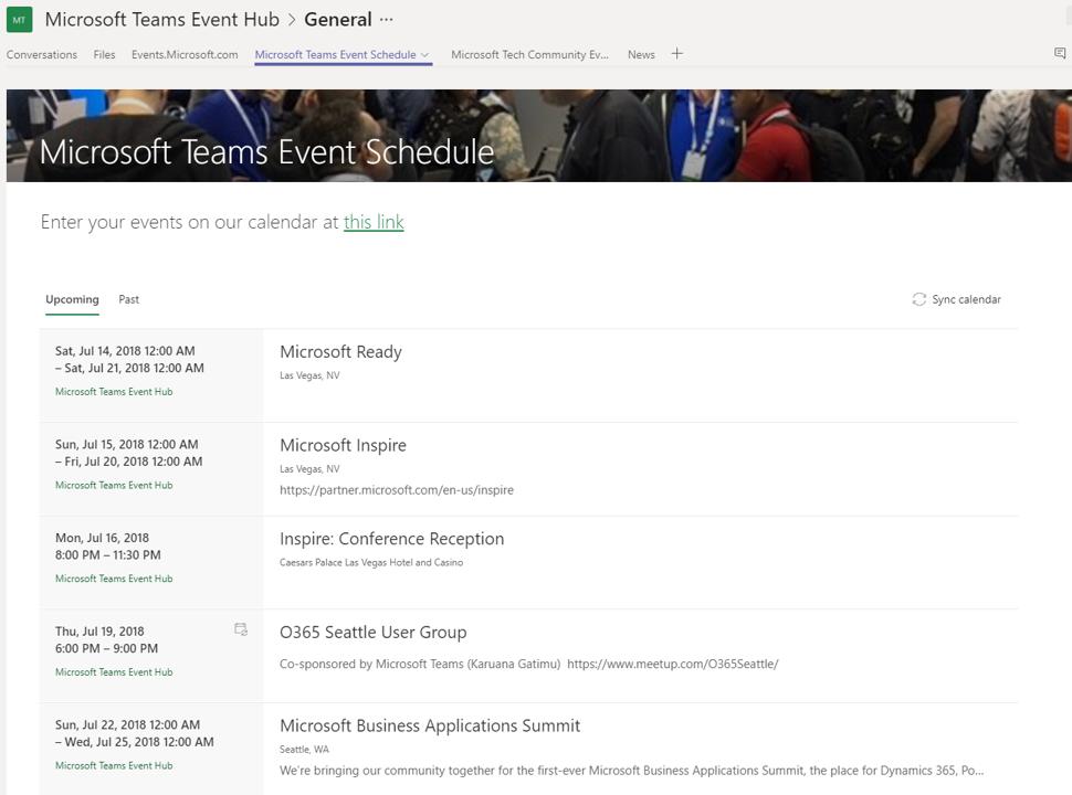 Calendar options in MS Teams - Microsoft Tech Community - 50685