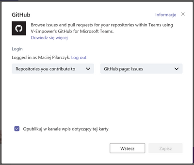 Problem with GitHub contributed repositories - Microsoft