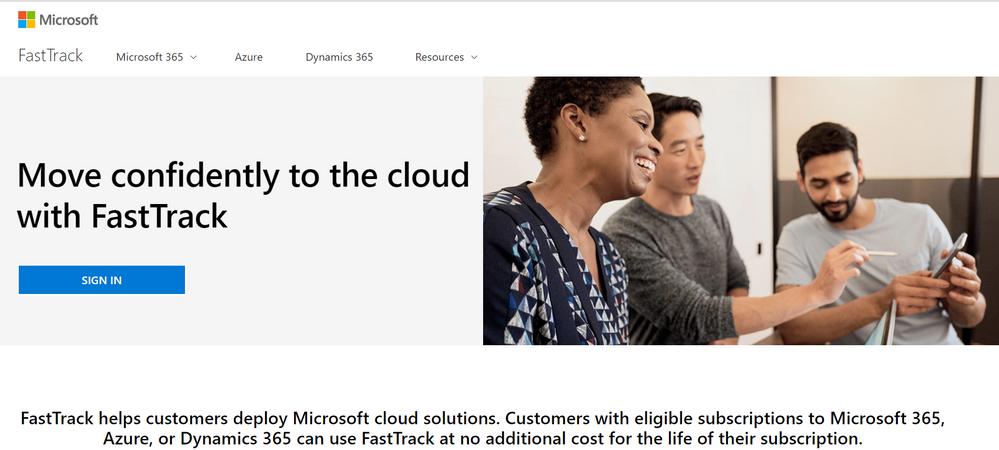 Microsoft FastTrack Homepage.PNG