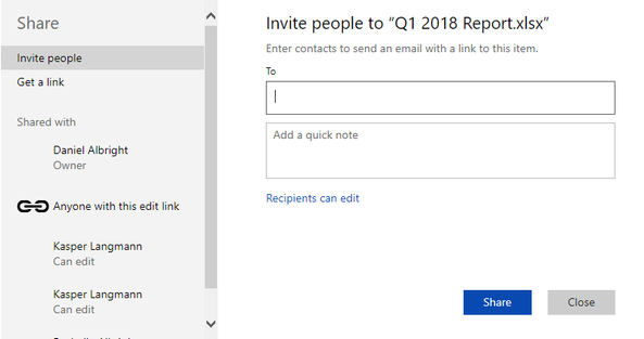 Invitation settings