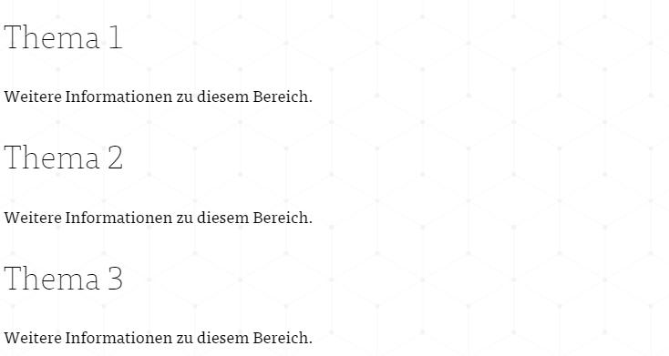 Thema German