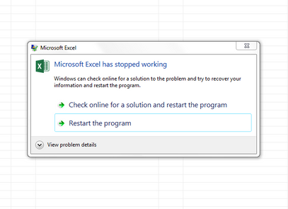 excel stopped working.PNG