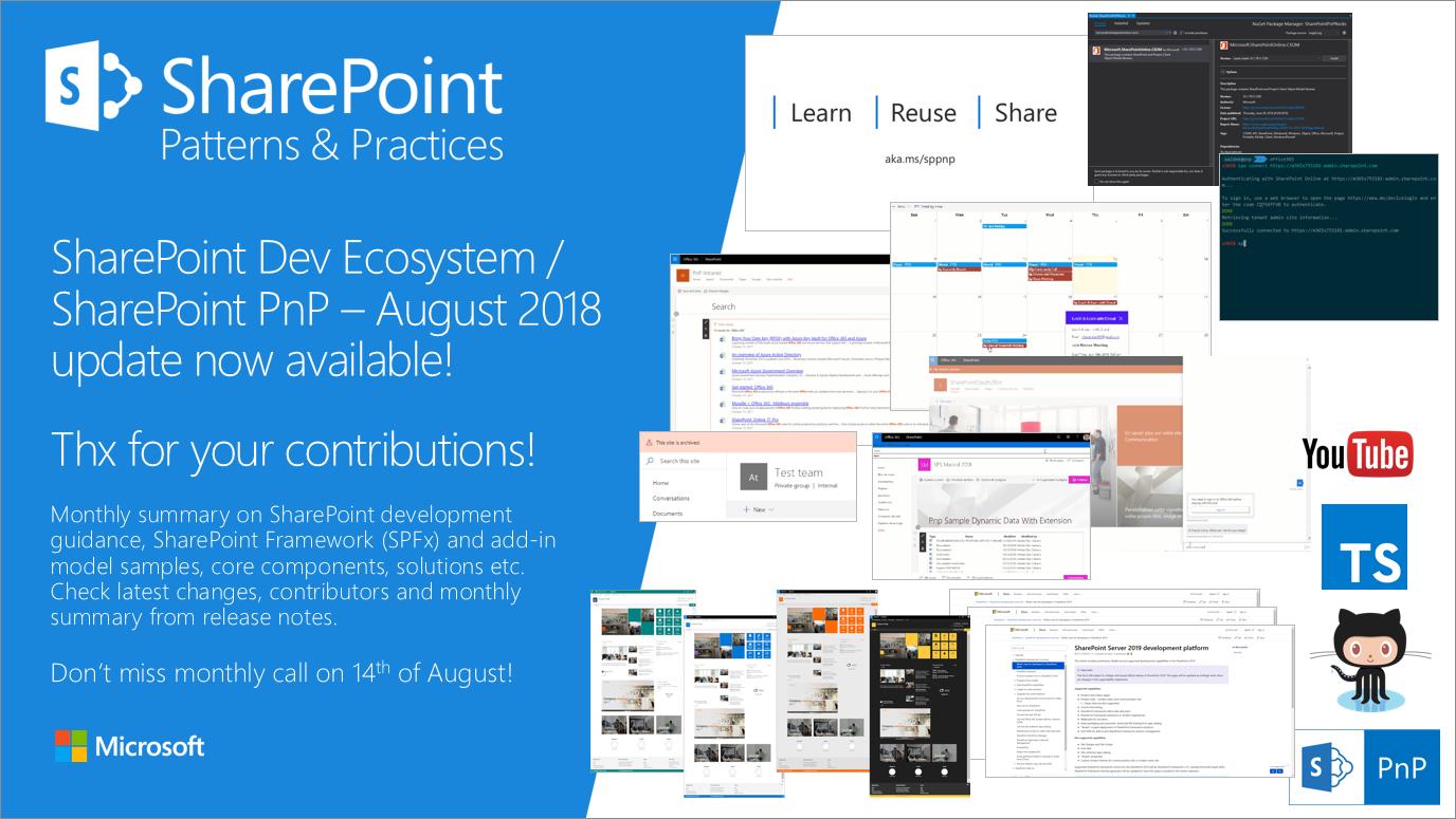 sharepoint dev ecosystem    sharepoint pnp