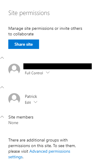 missing group names