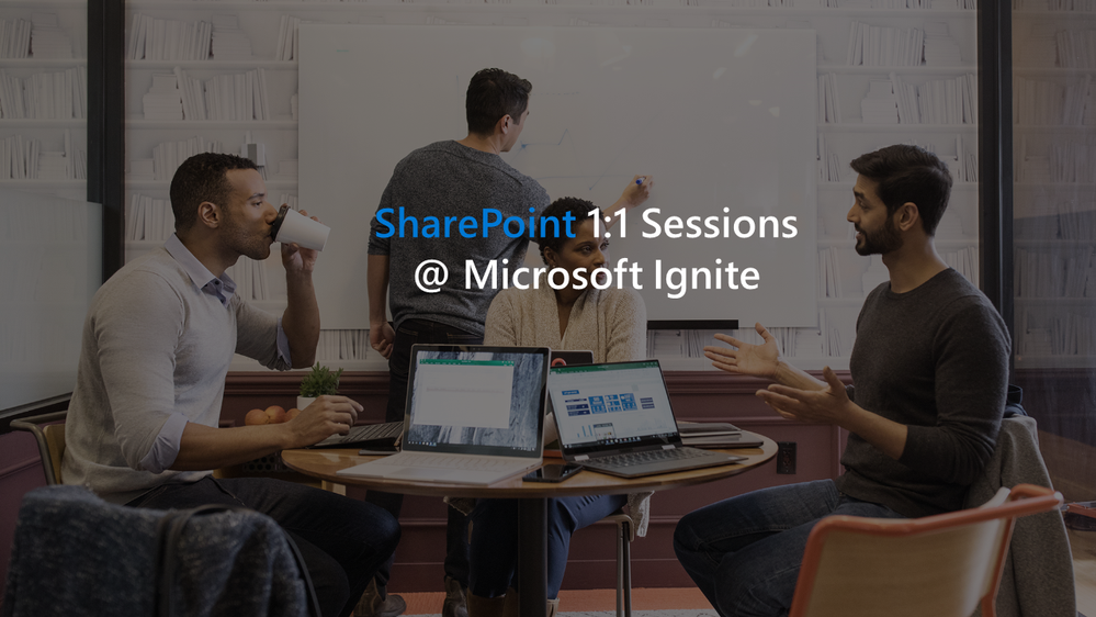 SharePoint 1 on 1 sessions ignite.png