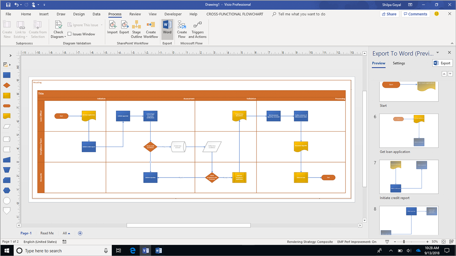 Automatically document visio process diagrams in microsoft word automatically document visio process diagrams in microsoft word microsoft tech community 252298 ccuart Choice Image