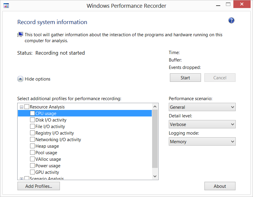 Troubleshooting Windows Performance Issues Using the Windows