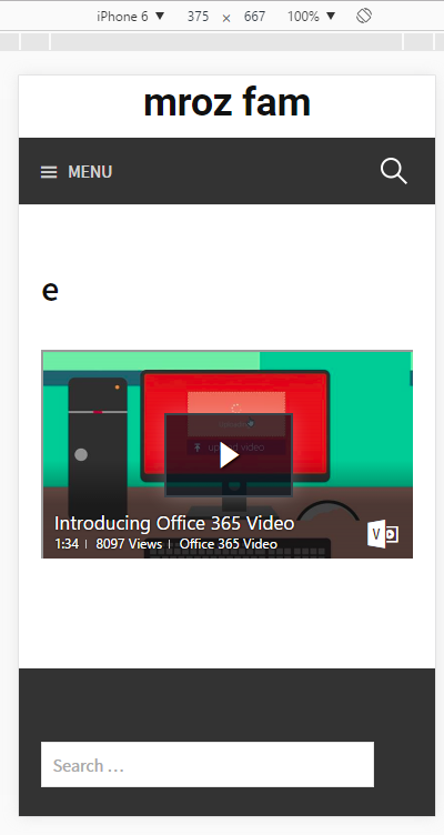 Embed O365 Video without iFrames - Microsoft Tech Community