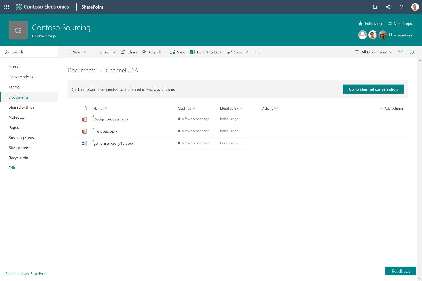 SharePoint powers teamwork in Office 365 – Ignite 2018