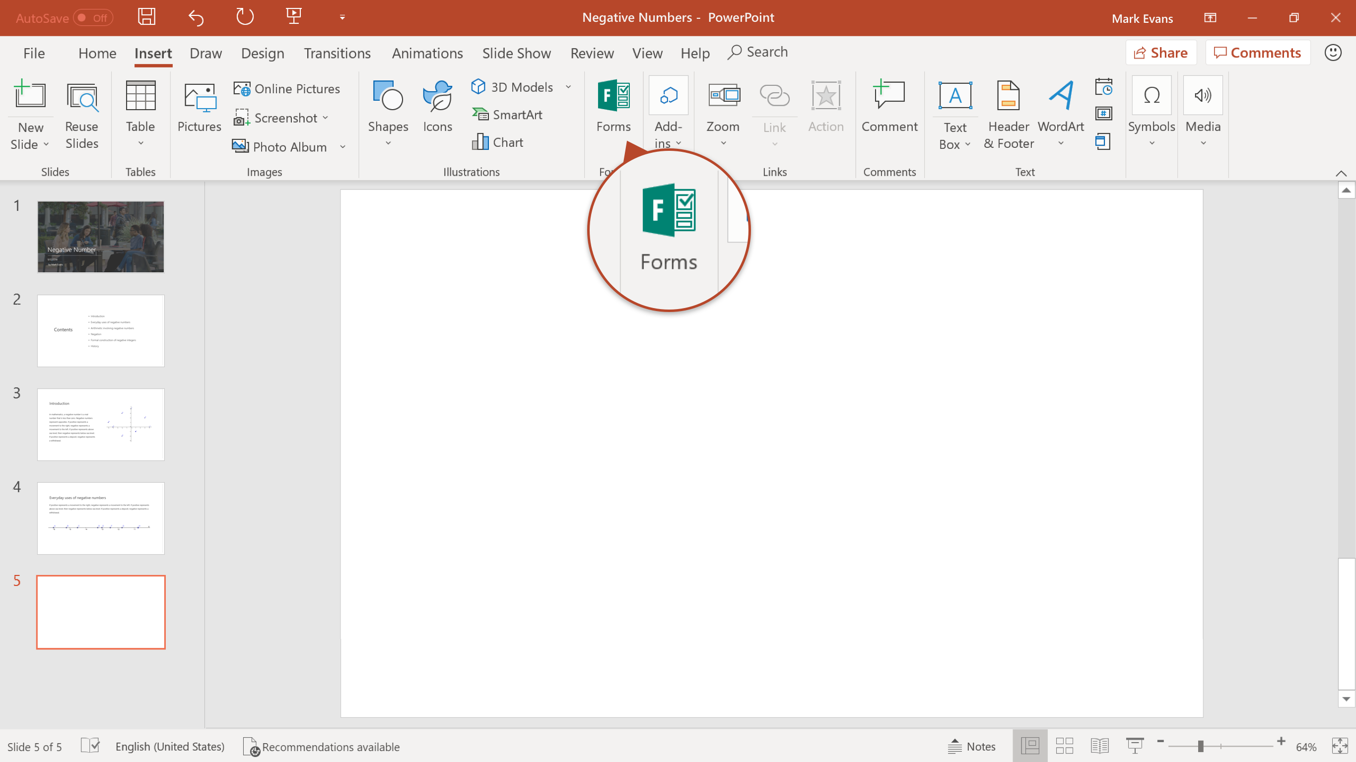 Microsoft Forms - cover