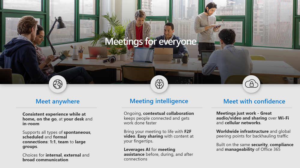 Meetings for everyone