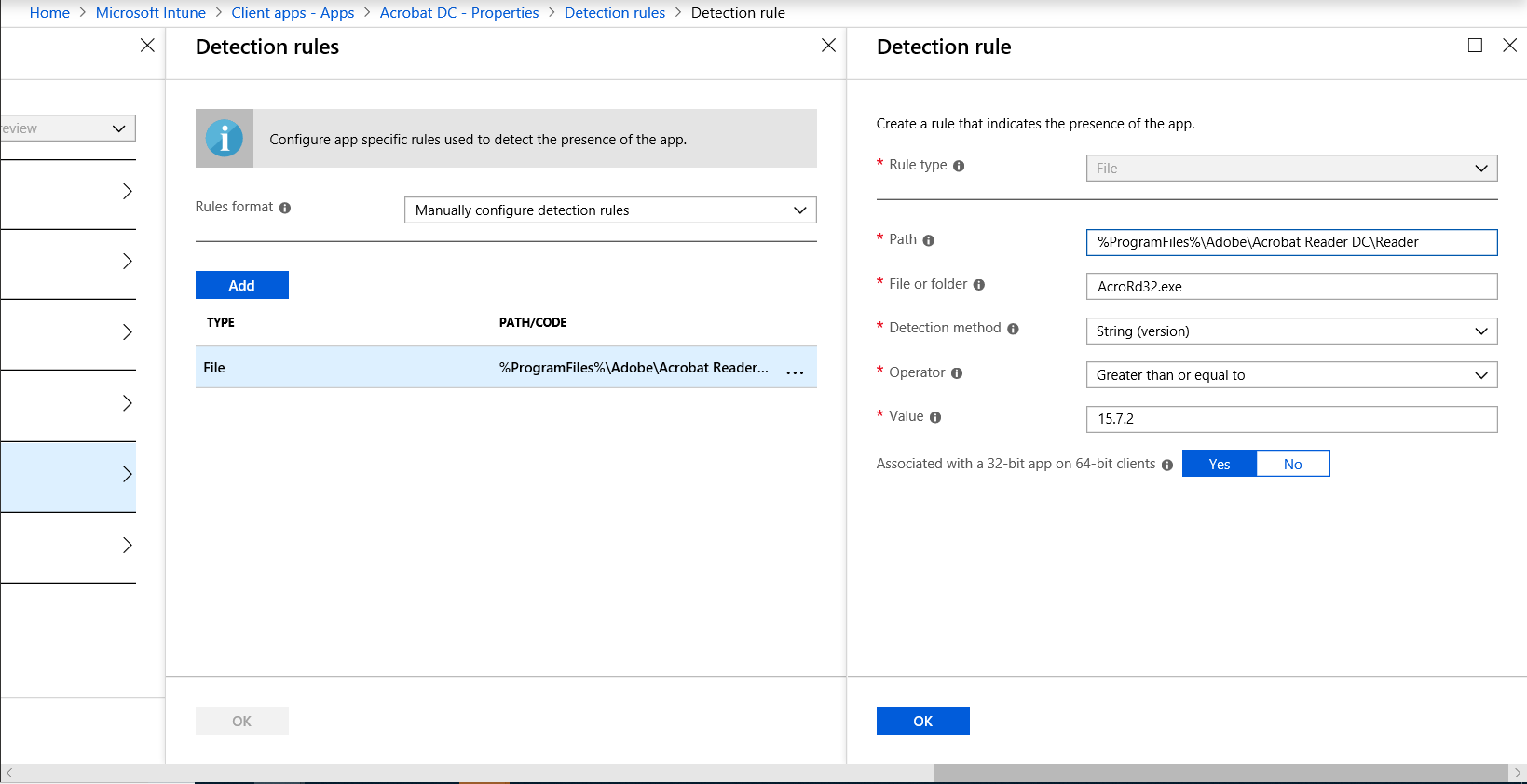 Sneak peek: Public preview of Win32 application deployment using