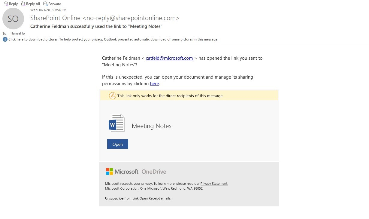 Onedrive Share Direct Download Link