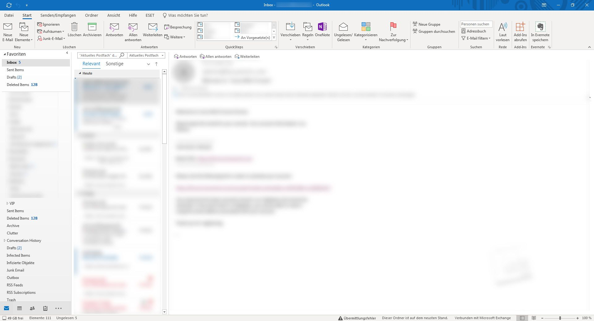 Outlook 365 Ribbon, etc - Microsoft Tech Community - 267706