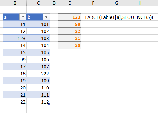 Preview of Dynamic Arrays in Excel - Microsoft Tech Community - 252944