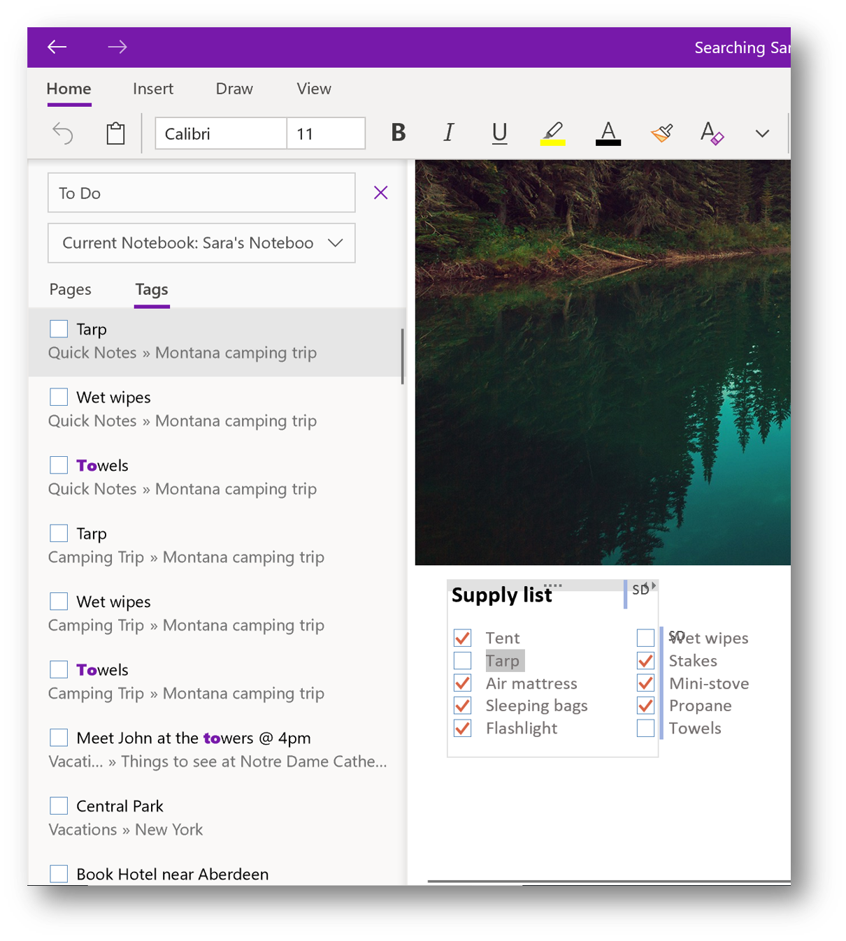What's new for OneNote in October 2018