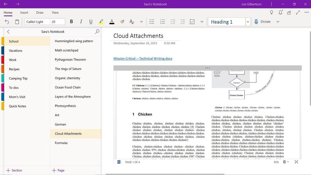 What's new for OneNote in October 2018 - Microsoft Tech Community